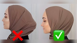 How To Get The PERFECT Hijab Bun!