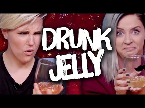 Trying Drunk Jellies w/ HANNAH HART! (Cheat Day)