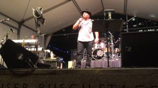 """Aaron Neville performs """"Ave Maria"""" at Discovery Green"""