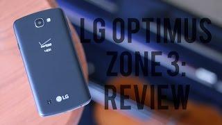 LG Optimus Zone 3 Review: Cheap'n good