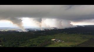 KILAUEA SUMMIT ERUPTION WEBCAMS & LIVE EARTHQUAKE MAP - ULTRA LOW-LATENCY - USGS HAWAII