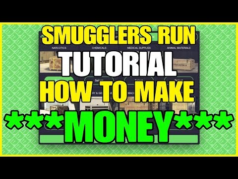GTA ONLINE – SMUGGLERS RUN TUTORIAL (((HOW TO MAKE MONEY)))