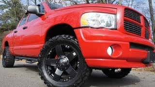 ~~~SOLD~~~2005 Dodge Ram 1500 Crew Cab Sport For Sale~Custom Rims & Stereo~Beautiful Truck