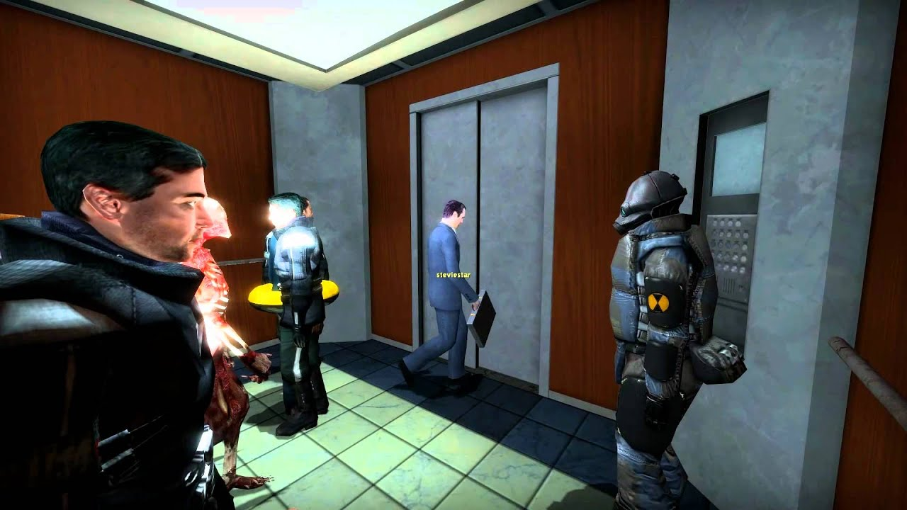 This Half-Life Mod Is About Being Stuck In An Elevator. It Is Incredible.