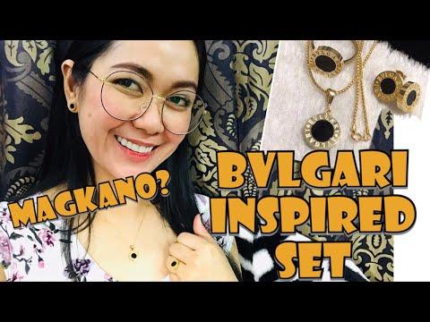 BVLGARI INSPIRED DESIGN  SET IN ONYX  BLACK | MOST FAVORITE | Rosh Castillo