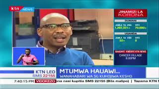 Wanahabari 2 wa Standard kufika mbele ya idara ya upelelezi kwa kuchapisha habari za korona