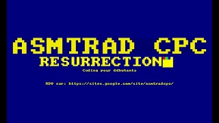 2020-01-28 ASMTRAD CPC Coding N°1 – Starfield #1
