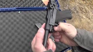 Пистолет Люгер Парабеллум.