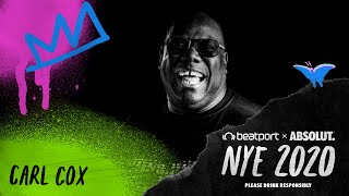 Carl Cox - Live @ Beatport x Absolut NYE 2020 Global Celebration #2