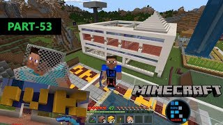 MINECRAFT | MAKING PVK THEATER IN OUR SHOPPING MALL & IT'S ALMOST COMPLETE#53
