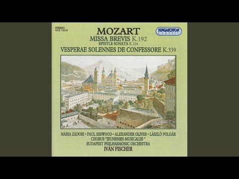 Vesperae Solennes de Confessore in C Major, K. 339: V. Laudate Dominum (Song) by Wolfgang Amadeus Mozart