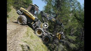 EXTRÊME WOOD MACHINE !!!! DANGEROUS PLACE