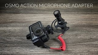 DJI Osmo Action Microphone Adapter   Ulitimate Vlogging Rig