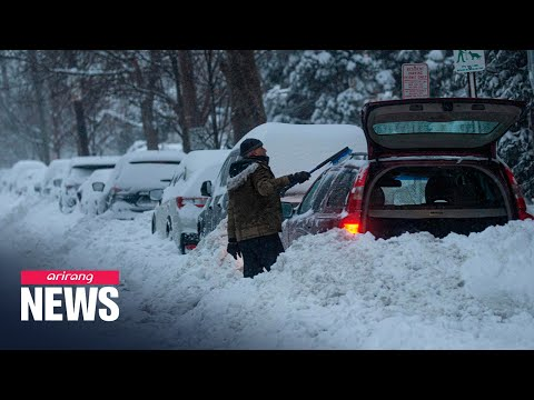 Winter cold freezes southern parts of the U.S. causing major disruption