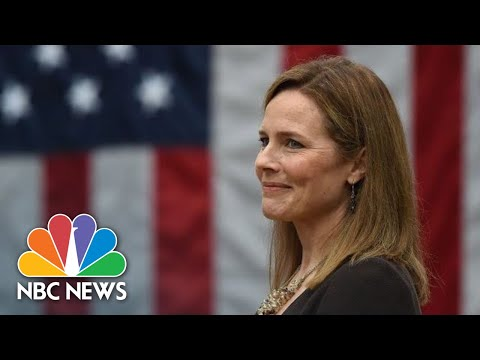 Live: White House Hosts Celebration After Amy Coney Barrett Confirmed To Supreme Court | NBC News