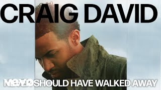 Craig David   Never Should Have Walked Away (Official Audio)