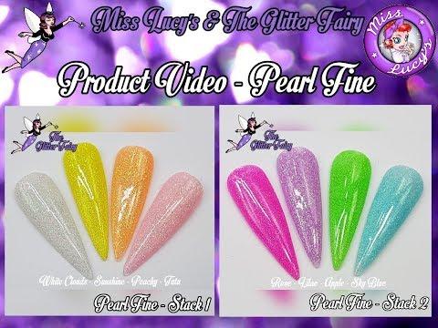 The Glitter Fairy - Pearl Fine
