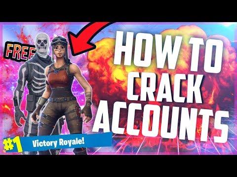 HOW TO CRACK FORTNITE ACCOUNTS 2018! - смотреть онлайн на