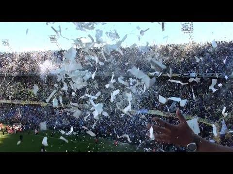 """Superclasico Cl11 / RECIBIMIENTO"" Barra: La 12 • Club: Boca Juniors • País: Argentina"