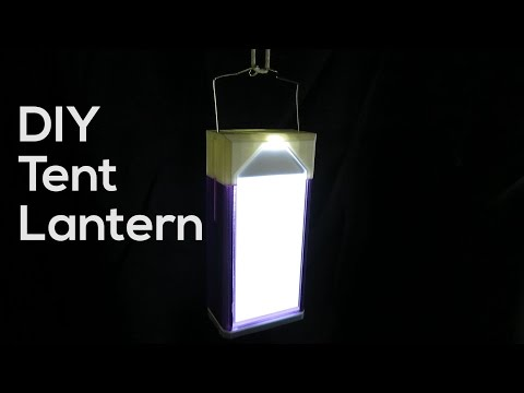 Build Your Own Custom Tent Lantern