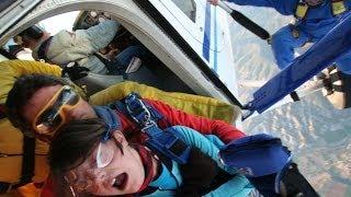 preview picture of video 'Salto tándem Loreto Domínguez. Santa Cilia, 12 de octubre de 2006'