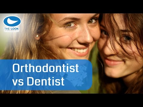 What's the difference between an Orthodontist and a Dentist?
