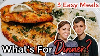 WHAT'S FOR DINNER? | EASY DINNER IDEAS | SIMPLE MEALS | NO. 42