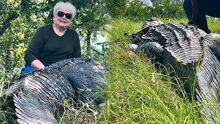 Walikota Perempuan Berusia 73 Tahun Tangkap Buaya 3,6 Meter, Ngaku Lakukan Demi Balas Dendam