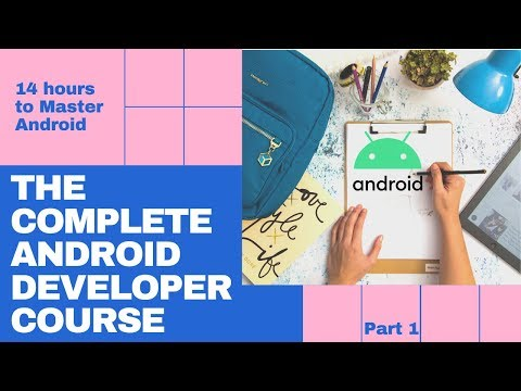 Android Full Course | Android Development Tutorial for Beginners