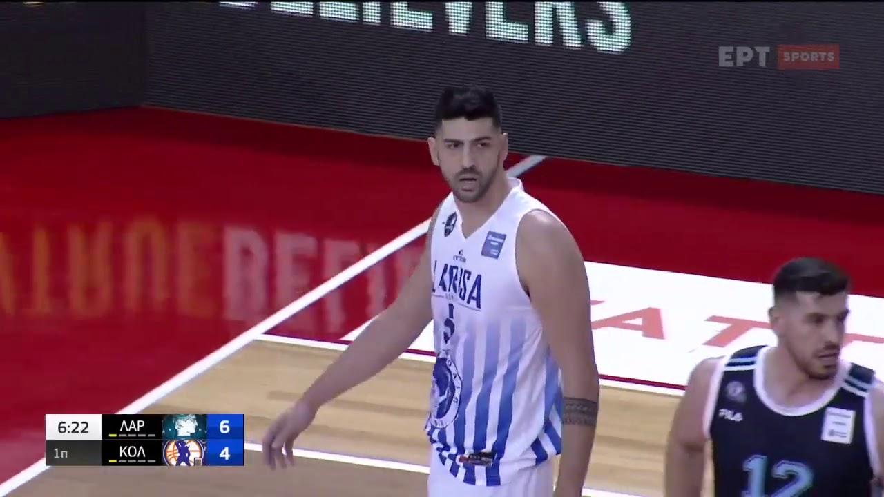 Basket League   Λάρισα – Κολοσσός   14/03/2021   ΕΡΤ