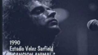 Cancion Animal (En Vivo) - Soda Stereo
