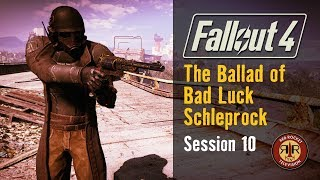 Fallout 4 - Live Stream - Survival Mode - Alternate Start- Low Luck Build - Session 10