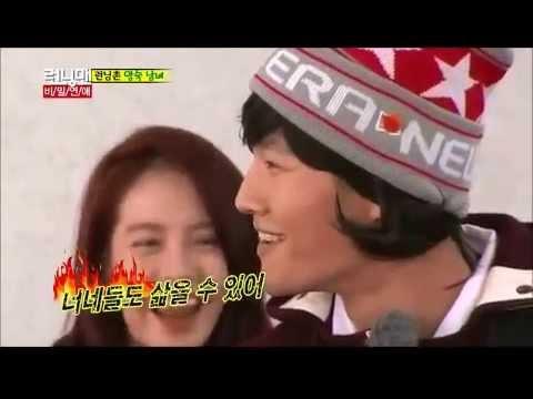 Kim Jong Kook transforms into a Girl - Running Man Ep. 181 -