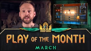 GWENT: THE WITCHER CARD GAME   Play of the Month (March 2018)