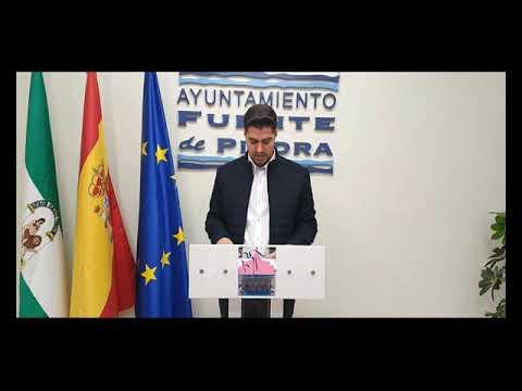 Declaraciones del Alcalde de Fuente de Piedra con motivo del COVID-19 y el Nuevo Pozo de Agua