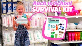 Back To School Survival Kit Supplies Shopping At Target And Haul! Hope Marie