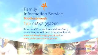 30 Hours Free Childcare/Early Education In Middlesbrough