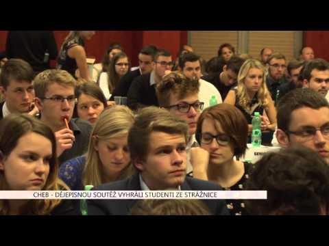 Cheb: Dějepisnou soutěž vyhráli studenti ze Strážnice (TV Západ)