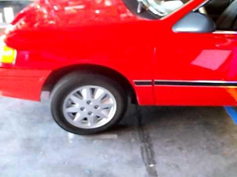 Ford Tempo-Topaz wheel upgrade !!!