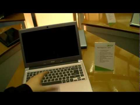Acer Aspire V5 14-Inch Subnotebook Hands On (English)