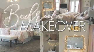 BEDROOM MAKEOVER || DECORATE WITH ME || Teen Girls Room