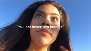 wearing makeup to school for the first time