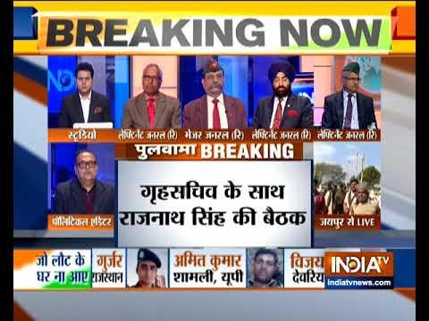 Ahead of all-party meet, Rajnath Singh meets Union Home Secretary Rajiv Gauba