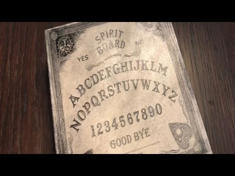 Ouija board candle melts with custom box for Halloween
