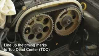 Opel Astra G 2.0 Turbo (Z20LET) paskirstymo diržo keitimas (1 dalis)