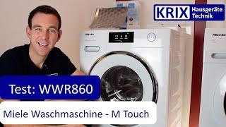 Test: Miele Waschmaschine WWR860 WPS - Das Topmodell von Miele