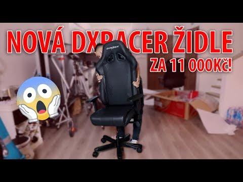 NOVÁ DXRACER ŽIDLE ZA 11 000Kč !