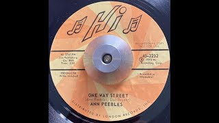 Ann Peebles   One Way Street