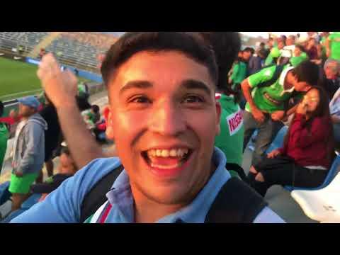 """Salida Audax vs. Botafogo - Copa Sudamericana 2018"" Barra: Los Tanos • Club: Audax Italiano"