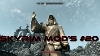 Skyrim Mod's #20 - Rokir's Tomb & Talos Remake Statue ◄FR►